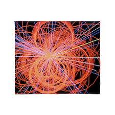 Simulation of Higgs boson production Throw Blanket