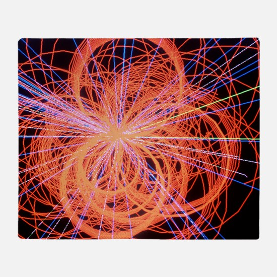 Simulation of Higgs boson production Throw Blanket