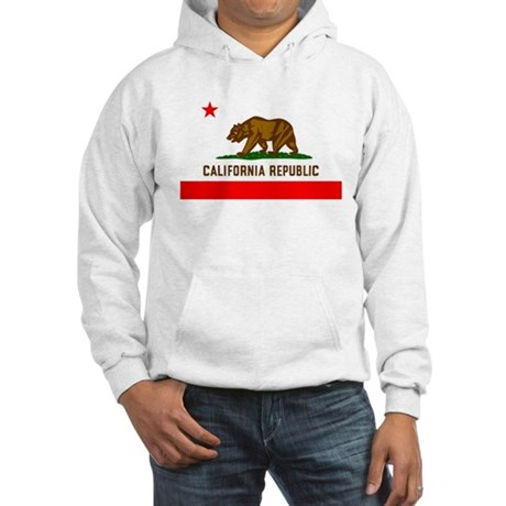 California Flag Hooded Sweatshirt