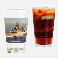uss rsedwards framed panel print Drinking Glass