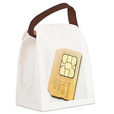 SIM card Canvas Lunch Bag