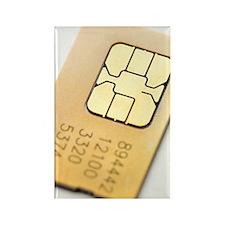 SIM card Rectangle Magnet