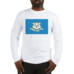 Connecticut Flag Long Sleeve T-Shirt