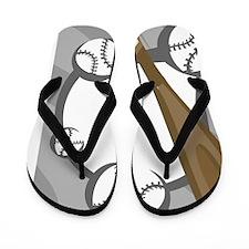 BaseballBB16 Flip Flops