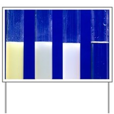 Silver halide precipitates Yard Sign
