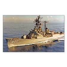 uss rsedwards large framed pri Decal