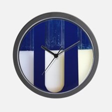 Silver compounds Wall Clock