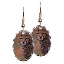 Cheetah cub, Masai Mara Nationa Earring