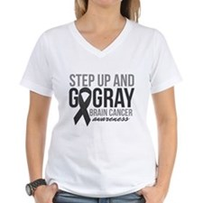 Step Up and Go Gray T-Shirt