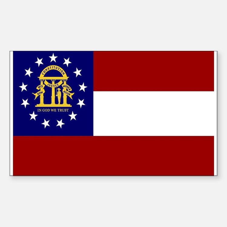 georgia state flag - photo #16