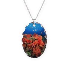 Coral and fish Necklace