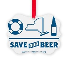 Save Our Beer! Ornament