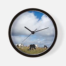 Shire horses Wall Clock