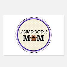 Labradoodle Dog Mom Postcards (Package of 8)