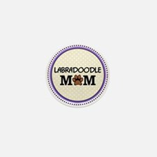 Labradoodle Dog Mom Mini Button