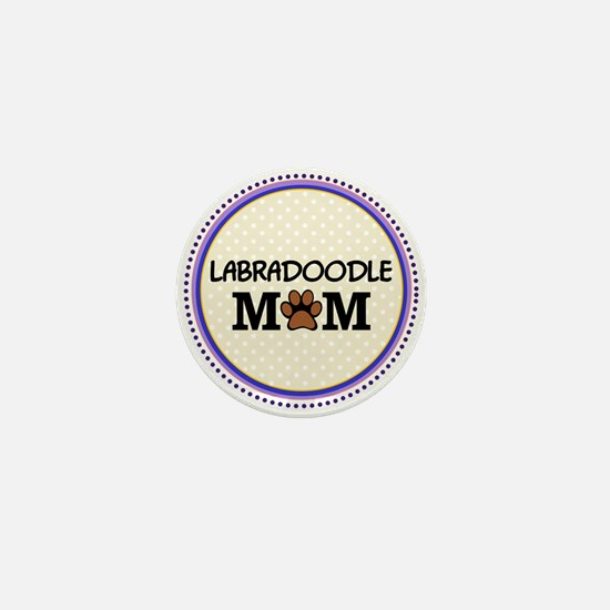 Labradoodle Dog Mom Mini Button