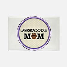 Labradoodle Dog Mom Magnets