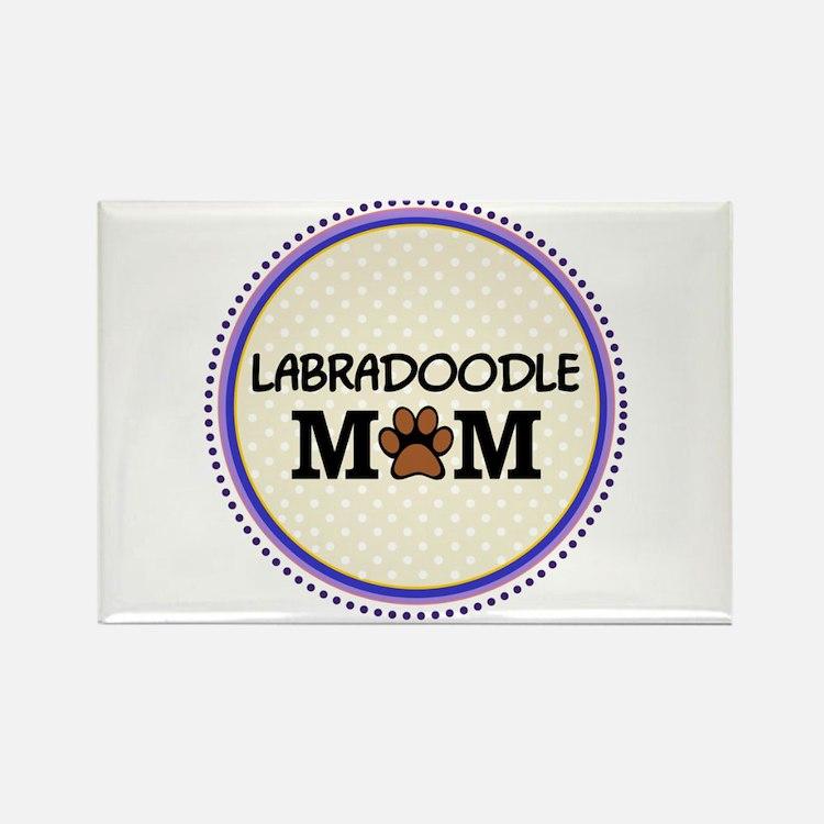 Labradoodle Dog Mom Magnets