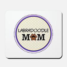 Labradoodle Dog Mom Mousepad