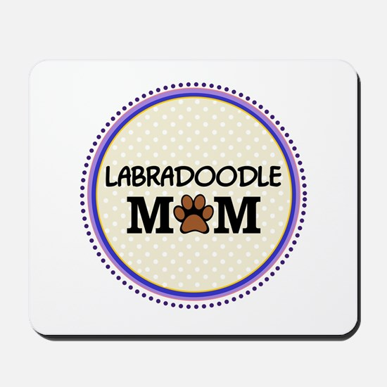 Labradoodle Dog Mom Mousepad