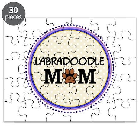 Labradoodle Dog Mom Puzzle