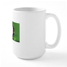 Show auricula 'Mazeta Stripe' flower Mug