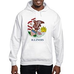 Illinois Flag Hoodie