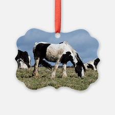 Shire horses Ornament