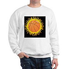 FlamingBasketball Sweatshirt