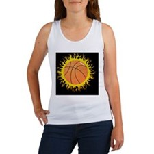 FlamingBasketball Women's Tank Top