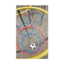 Soccer ball in Playground Decal