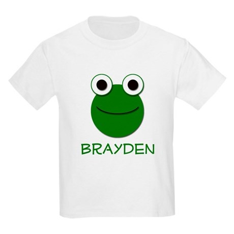 Brayden Frog Face Kids T-Shirt