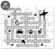 JERSEY SHORE SCRABBLE-STYLE Puzzle
