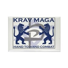 Krav Maga Hand to Hand Combat Rectangle Magnet