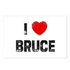I * Bruce Postcards (Package of 8)