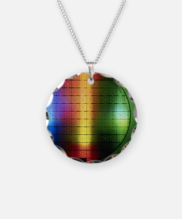 Semiconductor wafer Necklace