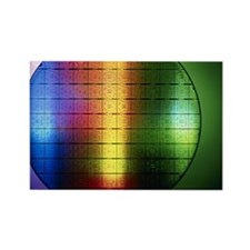 Semiconductor wafer Rectangle Magnet