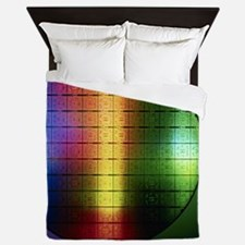 Semiconductor wafer Queen Duvet