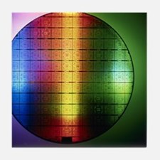 Semiconductor wafer Tile Coaster