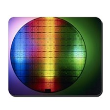 Semiconductor wafer Mousepad