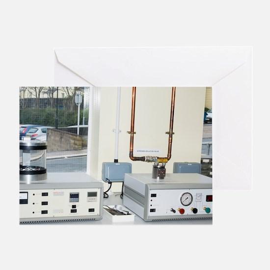 SEM specimen drying equipment Greeting Card
