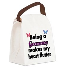 Being a Grammy makes my Heart Flutter Canvas Lunch