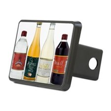 Selection of vinegars Hitch Cover