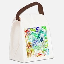 Secondary structure of proteins,  Canvas Lunch Bag