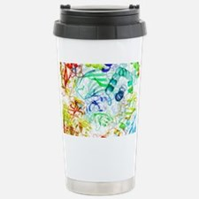 Secondary structure of proteins Travel Mug