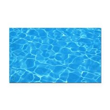 Water Rectangle Car Magnet