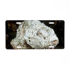 Scorpionfish Aluminum License Plate