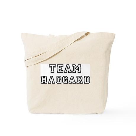 Team HAGGARD Tote Bag