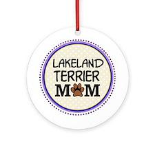 Lakeland Terrier Dog Mom Ornament (Round)