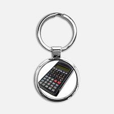 Scientific calculator Round Keychain
